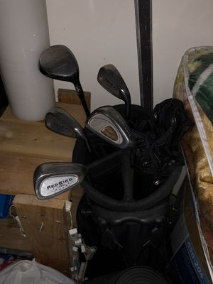 Golf Club Bag with Set for Sale in Jersey City, NJ