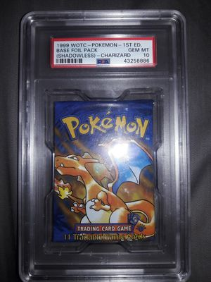 PSA 10 1st Edition English Base Set Pokemon Booster Pack for Sale in Marysville, WA