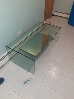 tv stand glass for Sale in Brooklyn, NY