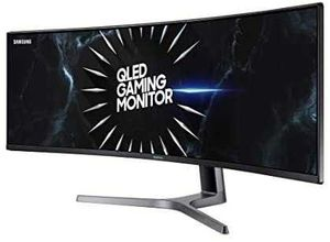 Samsung 49-Inch CRG90 Curved Gaming Monitor – 120Hz Refresh, Ultrawide Screen QLED Computer Monitor, 5120 x 1440p Resolution, 4ms Response for Sale in SUNNY ISL BCH, FL