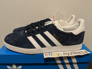 Adidas Originals Gazelle Navy White Gold Suede Men's 11.5 for Sale in Brooklyn, NY