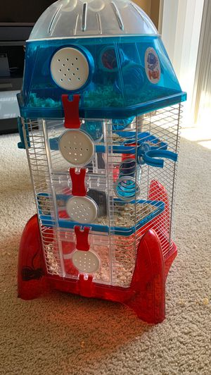 cage and full hamster for Sale in Pleasant Hill, CA