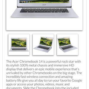 Factory Refurbished Acer Chromebook 14 for Sale in Atlanta, GA