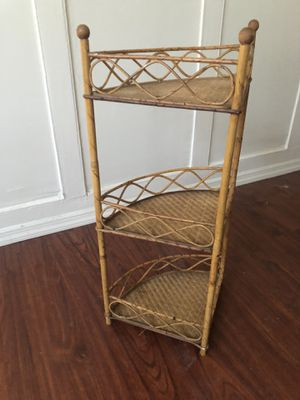 3 tier corner storage shelf for Sale in Rahway, NJ