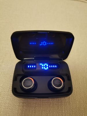 (B6)True Wireless Bluetooth 5.0 Earphones Touch Control Headphones Earbuds Headset for Sale in Walnut, CA