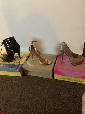 Women heels size 6 for Sale in El Centro, CA