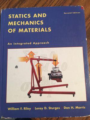 Statics book ENGR 220 LaTech $50 for Sale in Ruston, LA