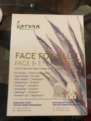 Karuna - Face For All Face & Eye Mask Set for Sale in Kirkland, WA