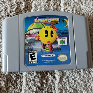 Ms Pacman Maze Madness Nintendo 64 for Sale in Downey, CA