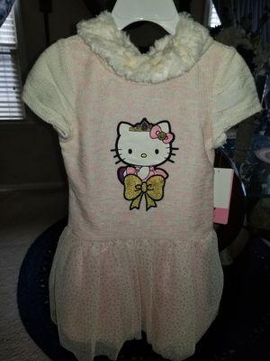 Nwt Princess Hello Kitty Tutu Dress Size 3T for Sale in Flint, MI