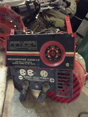 Lincoln electric G 3000 L-X Welder generator for Sale in Ripon, CA