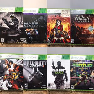 Xbox 360 Games, Lots of Great Titles (Spiderman, Call of Duty, Halo, Mass Effect, Fallout, Fifa) 🎮❄️🕹 for Sale in Pleasant Hill, CA