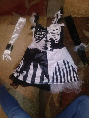 Skelequin halloween costume for Sale in Clermont, FL