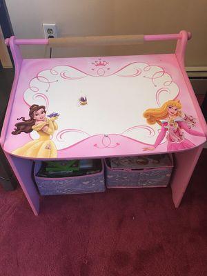 Disney princess toddler desk for Sale in Worcester, MA