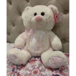 White Reversible Sequins Teddy Bear for Sale in Oxnard,  CA