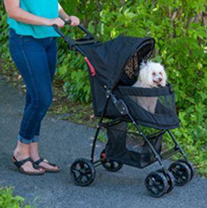 PetGear Navy Blue folding Dog & Cat Stroller for Sale in Miami, FL