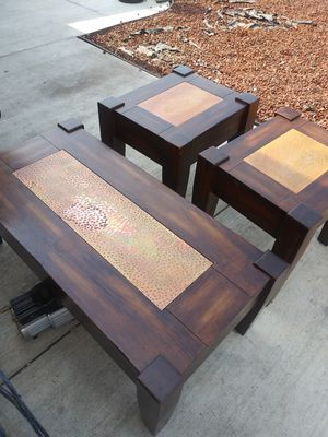 Coffee and end tables for Sale in Milpitas, CA