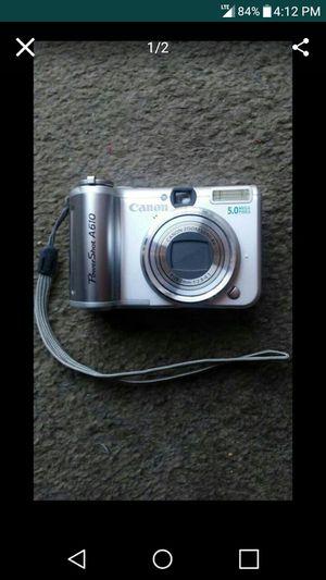 Canon PowerShot A610 Digital Camera for Sale in Nashville, TN