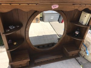 Solid Oak dresser top for Sale in St. Cloud, FL