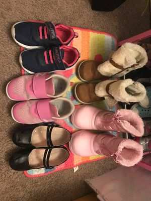 Girls size 10 lot of shoes $10 each for Sale in Philadelphia, PA