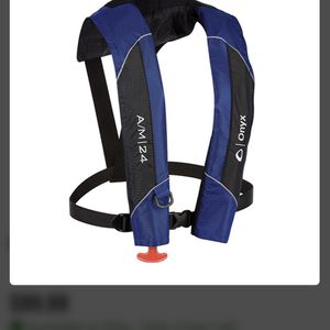 Onyx Auto Inflate Life Vest New for Sale in Boca Raton, FL