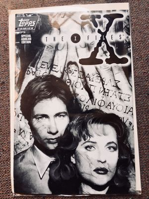 Rare Vintage X-Files Comic Limited edition for Sale in Raleigh, NC