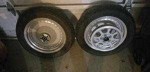 Harley davidson Fatboy wheels and tires for Sale in Alameda, CA