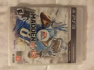 PS3 Madden 13 Video Game (Brand New) for Sale in Massillon, OH