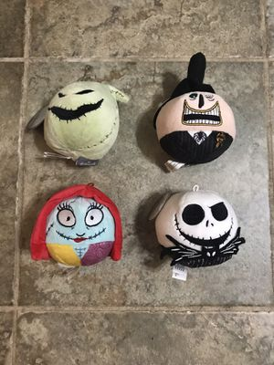 Nightmare Before Christmas Fluffball Plush Set for Sale in Farmingdale, NY