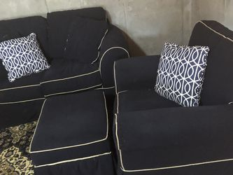 3 Piece Livingroom set Loveseat Chair Ottoman for Sale in Smyrna,  GA