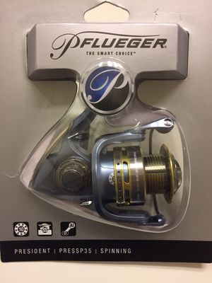 Pflueger President spinning reels for Sale in Gainesville, VA