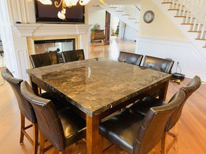 Square shape high rise breakfast/Dining table for Sale in Pennington, NJ