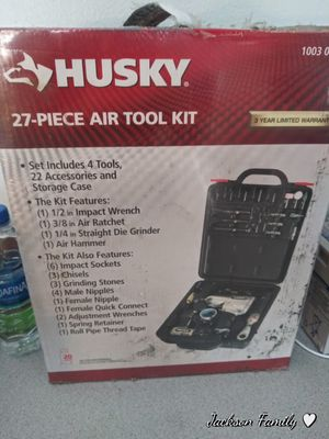 Husky 27-Piece Air Tool Kit for Sale in PT CHARLOTTE, FL