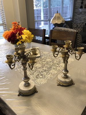 2 piece candelabras for Sale in Frisco, TX