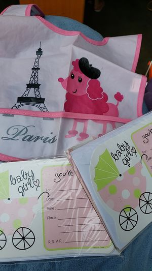 Free baby shower invites for Sale in Ceres, CA