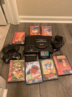 Sega Genesis plus games for Sale in San Lorenzo, CA