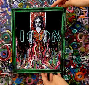 Feminist Icon 12x9 framed for Sale in Brooklyn, NY