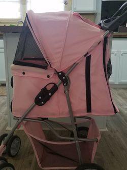 Dog Stroller, Pink for Sale in York,  SC
