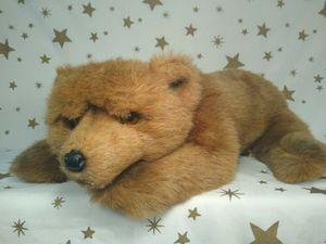"BIG Vintage 1986 Applause Brown Teddy Bear Stuffed Animal 21"" for Sale in Renton, WA"