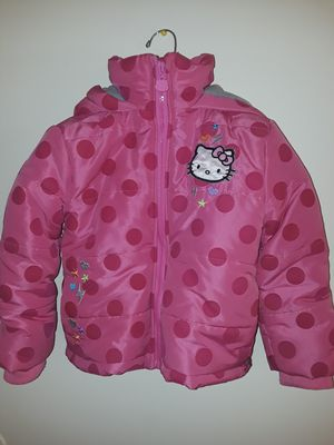 Hello kitty girl jacket size 4T for Sale in Frederick, MD
