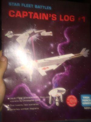 Star fleet battles captains log #1-7 for Sale in Jacksonville, FL