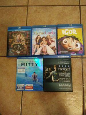 Blu ray DVDs. for Sale in Santa Maria, CA