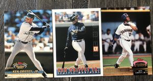 Three Ken Griffey, Jr. Baseball Cards for Sale in Costa Mesa, CA