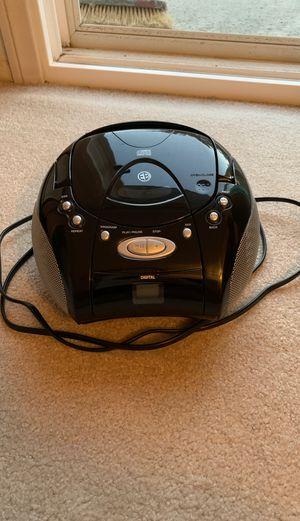 Intertek portable radio/CD player for Sale in Santa Ana, CA