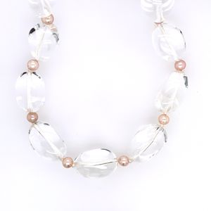 Tiffany and Co. Natural Rock/Pink Pearl Necklace for Sale in Alexandria, VA