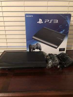 PS3 with controller PLUS extra controller for free ($15 value) for Sale in Missouri City, TX