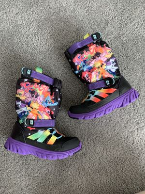 Toddler Girls Size 9 Snow Boots Stride Rite My Little Pony for Sale in Chula Vista, CA