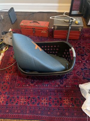 Free laundry basket and yoga mat for Sale in Chicago, IL
