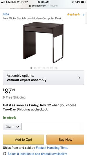 Ikea Computer Desk for Sale in Brooklyn, NY