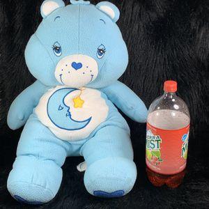 "Jumbo Plush Care Bear 28"" Fleece Bedtime Bear Stuffed Pillow 2002 for Sale in Centerton, AR"